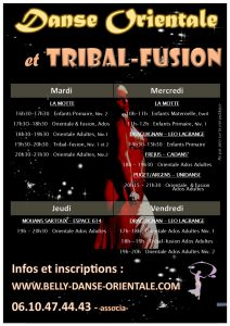 flyer cours verso